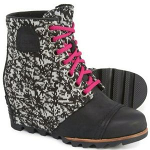 Sorel PDX Graphic Knit Wedge Boot